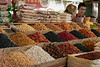 Dried fruit and nuts, Shymkent market, Shymkent, Kazakhstan