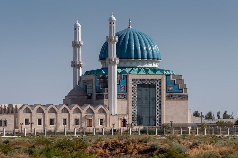 Mausoleums of Rabigha-Sultan Begum and Khoja Ahmed Yasawi, Turkestan, Kazakhstan