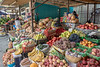 Open air fruit and vegetable market, Saty, Tian Shan Mountains, Kazakhstan