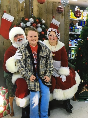 Cowboy Santa 2017