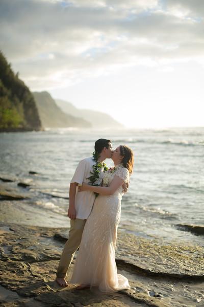 Ke E Beach Wedding Photography Kauai Photographer