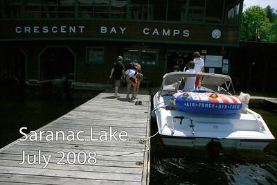 Saranac Lake July 2008