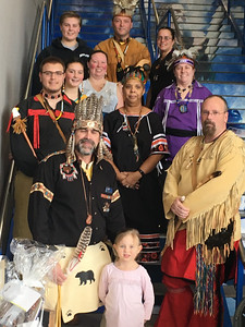 Members of the Greater Lowell Indian Cultural Association of Lowell.