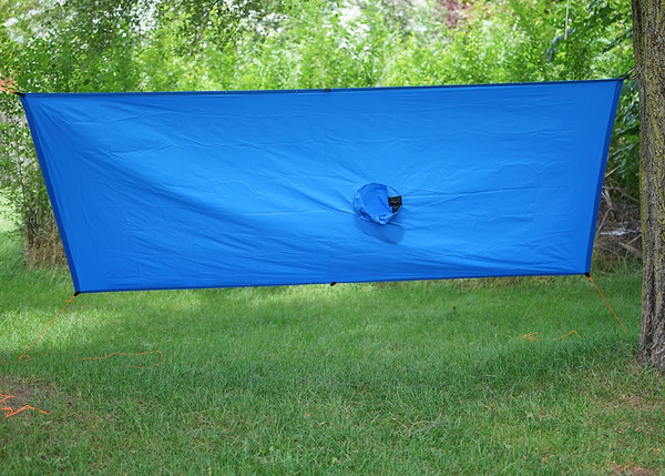 Tarp mode front view
