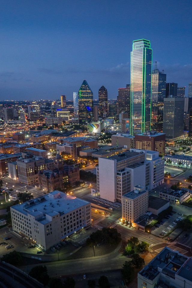 Dallas City Lights
