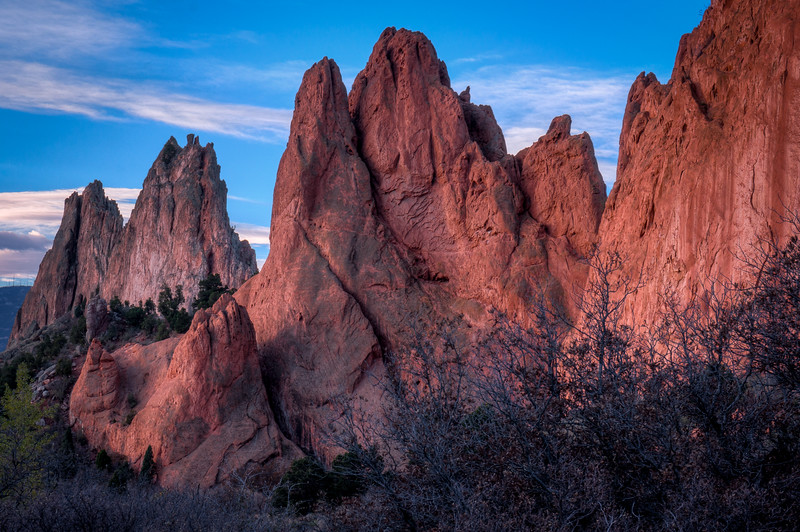 Garden of the Gods, Soft Morning Light