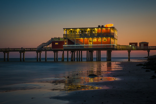 Jimmy's on the Pier, Sunset