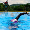 KRISTOPHER RADDER — BRATTLEBORO REFORMER<br /> Donna Smyth swims laps at the Vernon Recreational Pool, in Vernon, Vt., on Monday, June 22, 2020.
