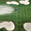 BEN GARVER — THE BERKSHIRE EAGLE<br /> Work at the Country Club of Pittsfield must continue for the eventuality of golf and to prevent the grounds from deteriorating. Wednesday, April 28, 2020.