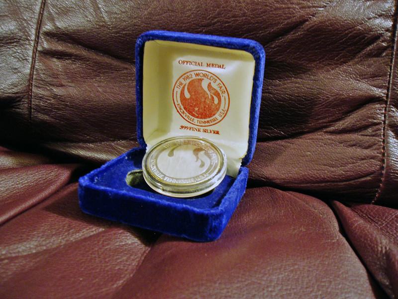 World's Fair Medallion