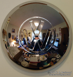 Reflections in a Wheel Cover