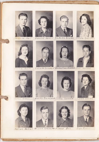 1938 ~ 1939 Central High School