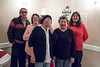 2016 December 13th board meeting of Keewaytinok Native Legal Services at the Sky Ranch Restaurant in Moosonee. Board members Leo Metatawabin, Barb Louttit, Climie Wesley, Maureen McCauley, Shirley Sparling.