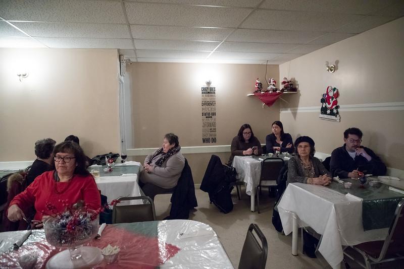2016 December 13th board meeting of Keewaytinok Native Legal Services at the Sky Ranch Restaurant in Moosonee.