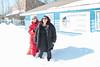 Kathy Laird and Lori Mishibinijima at Keewaytinok Native Legal Services in Moosonee.