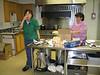 Yuke Man and Louise Etherington in kitchen