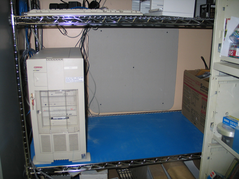 Server - where all the documents for the meeting were stored....