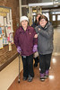 Annual General Meeting of Keewaytinok Native Legal Services 2017 February 15th. Anna Bella Goulet who has translated for Keewaytinok since 1981 arriving with Gertie Linklater and Rita Alisappi.