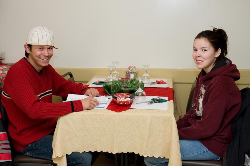 Board member Eric Enosse and friend Sarah Tomatuk
