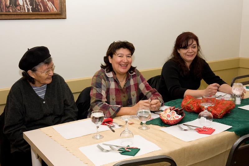 Susan Koostachin, Cecline Koostachin and Moosonee private bar lawyer Mary Chakasim
