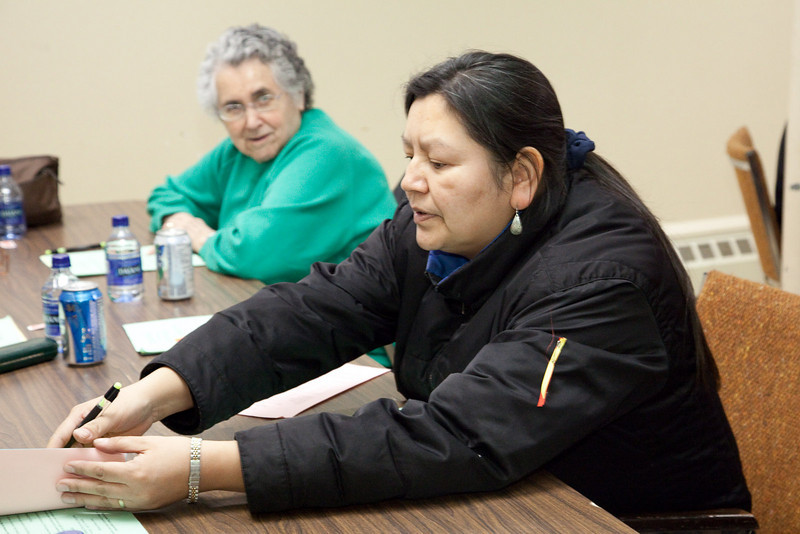 Annual General Meeting of Keewaytinok Native Legal Services held in Moosonee, Ontario on 2009 February 18th. Keewaytinok is a legal aid clinic funded by Legal Aid Ontario.
