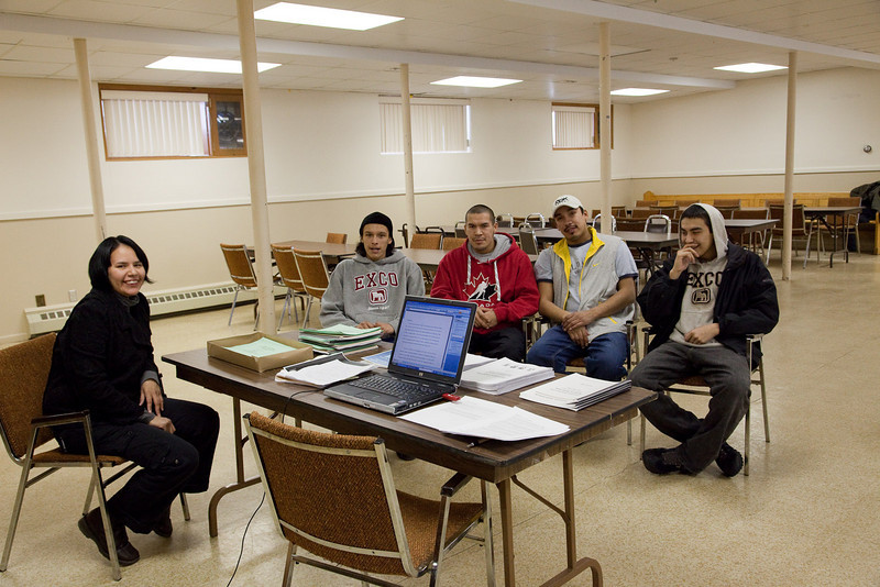 Annual General Meeting of Keewaytinok Native Legal Services held in Moosonee, Ontario on 2009 February 18th. Keewaytinok is a legal aid clinic funded by Legal Aid Ontario.