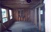 Living room Keewaytinok Native Legal Services staff house at 77 Bay Road in Moosonee