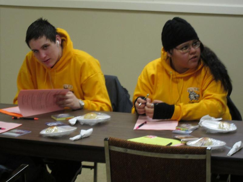 Annual General Meeting of Keewaytinok Native Legal Services 2011 February 23rd.