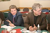 Timmins lawyer Justin Ellery with judge Ralph Carr 2004 December 7