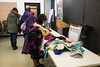 Project Cold 2016 Winter Clothing Giveaway spearheaded by Pauline Sackaney from Keewaytinok Native Legal Services in Moosonee.