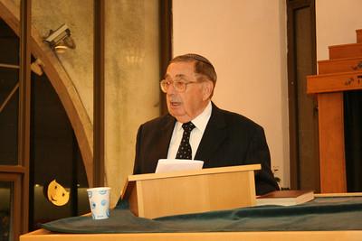 Prof. Dov Frimer, Barbara Pomerantz memorial lecture 2010