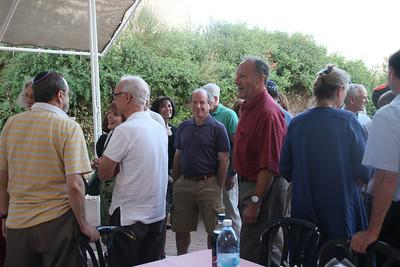 visit from Temple beth Torah Long Island