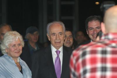 Yakir Hakehila and President Peres