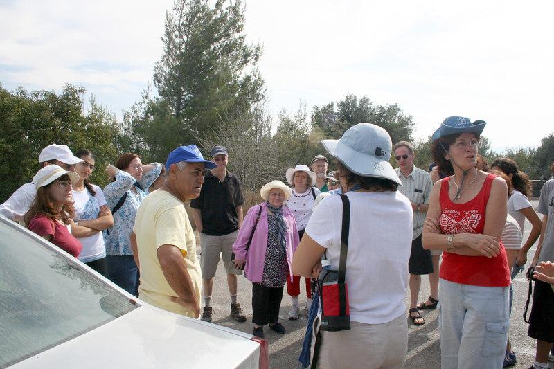המדריך מבית יערים The tour guide from Beit Yearim