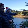 Christmas Eve hike around Lake Lagunitas