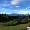 Arrival to Hotel Reserva Monarca - view from the gardens