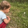 Keira found her first mushroom!