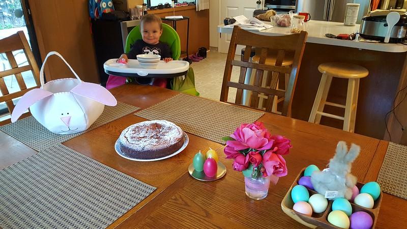 Breakfast on Easter Sunday
