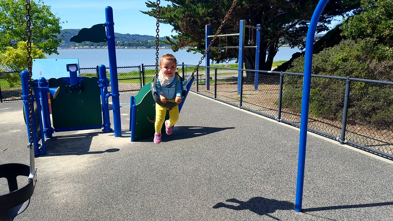 Playground with a view