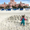 Beach fun at the Don Cesar hotel