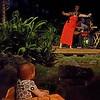 Watching traditional Hawaiian performance