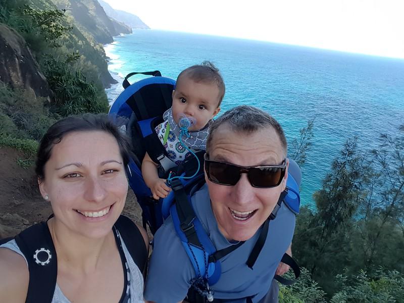 The amazing Na Pali Coast