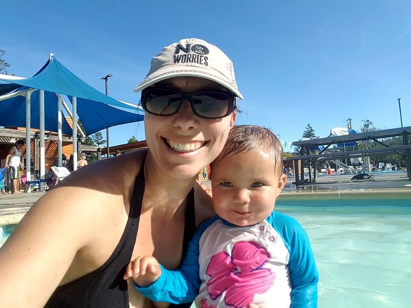 Sunday afternoon at the San Rafael  community pool