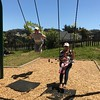 Girls having fun in Tomales community park