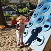 Having fun at the playground