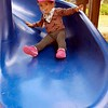 Sliding fun in Tomales Community Park. Missing babi!
