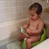 """Reading session on the potty. """"What do doggy/monkey/kitty/elephant say?"""""""