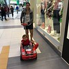 Fun at one of Bogota's malls...