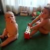 Keira and Sammi playing together