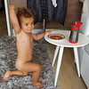 Breakfast gymnastics